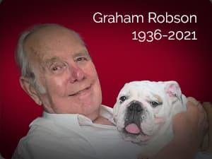 Graham Robson, 1936-2021