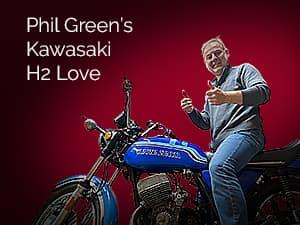 Kawasaki H2 Love