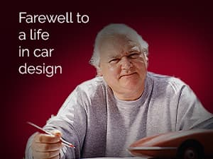 Farewell to a life in car design