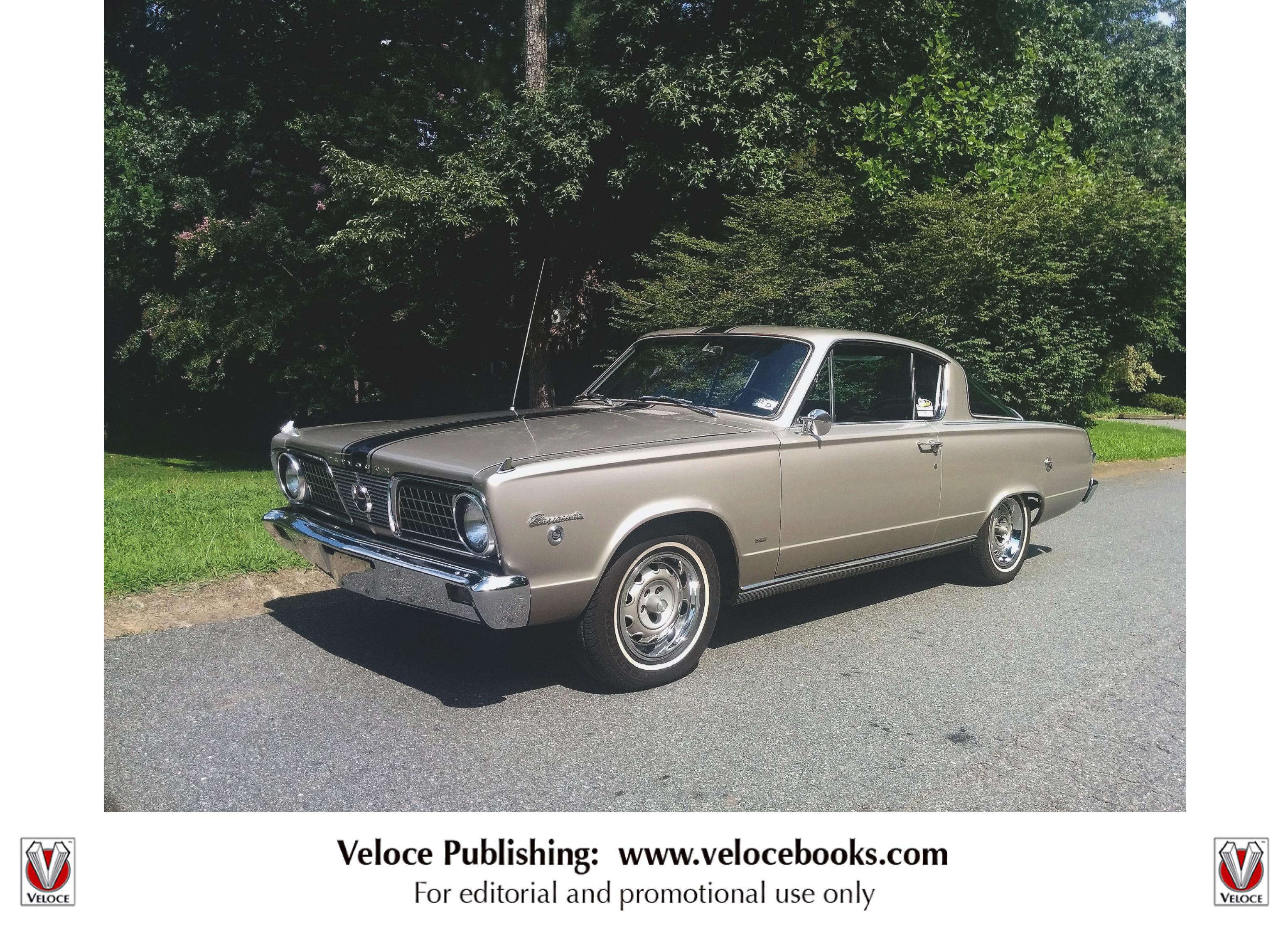 MOPAR Muscle - Barracuda, Dart & Valiant 1960-1980 by Marc Cranswick