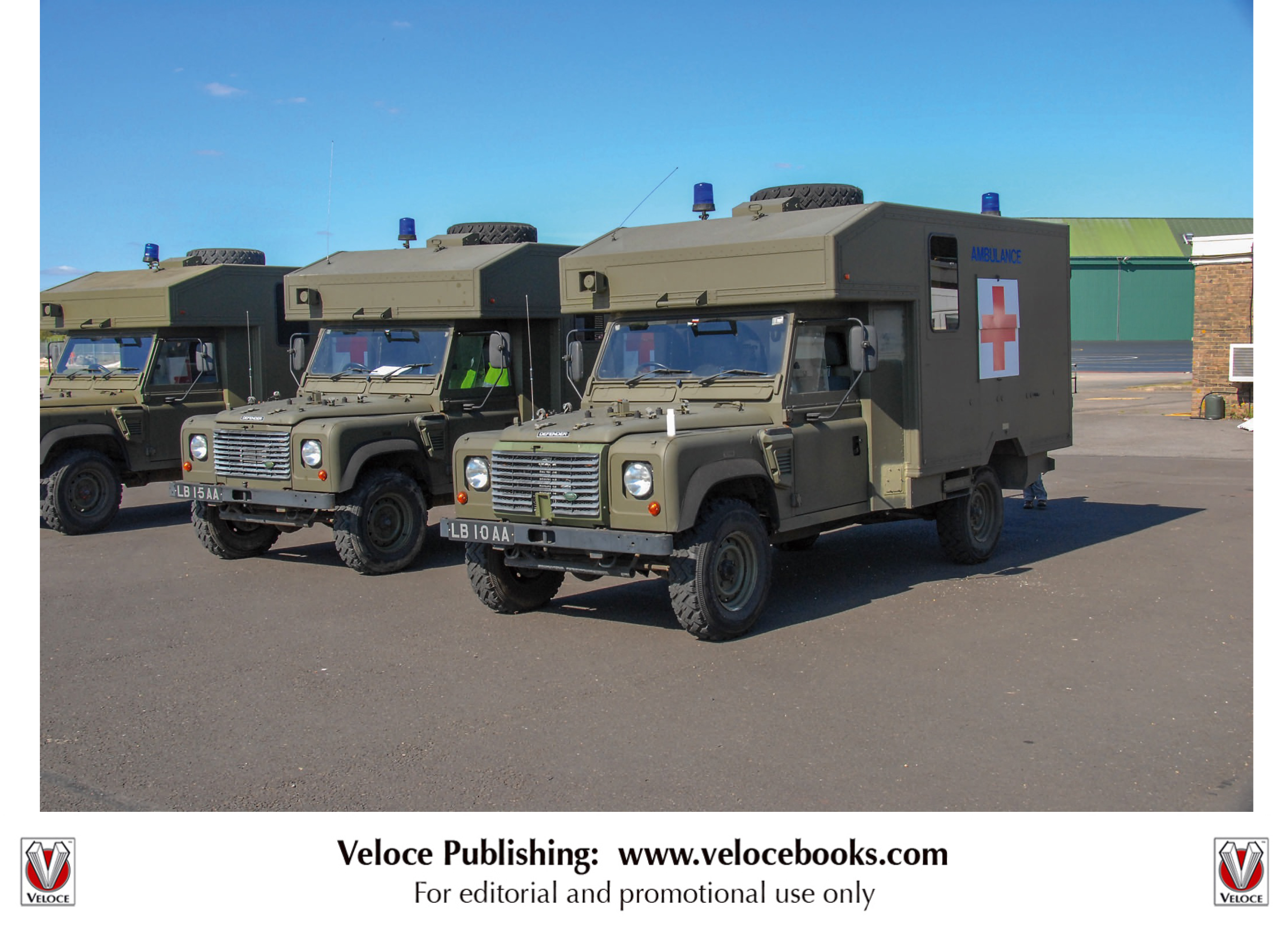 Land Rovers in British Military Service