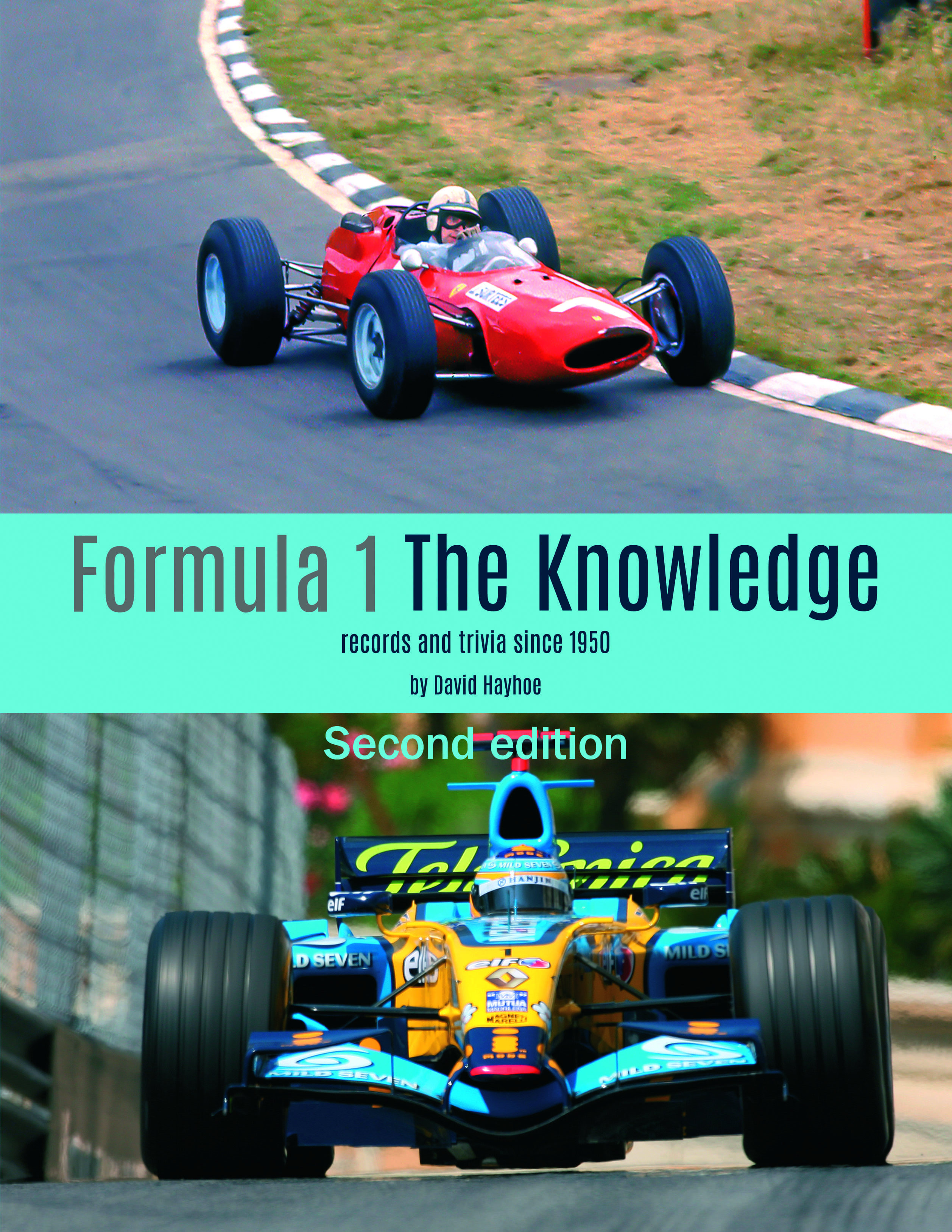 Formula 1 - The Knowledge 2nd Edition cover