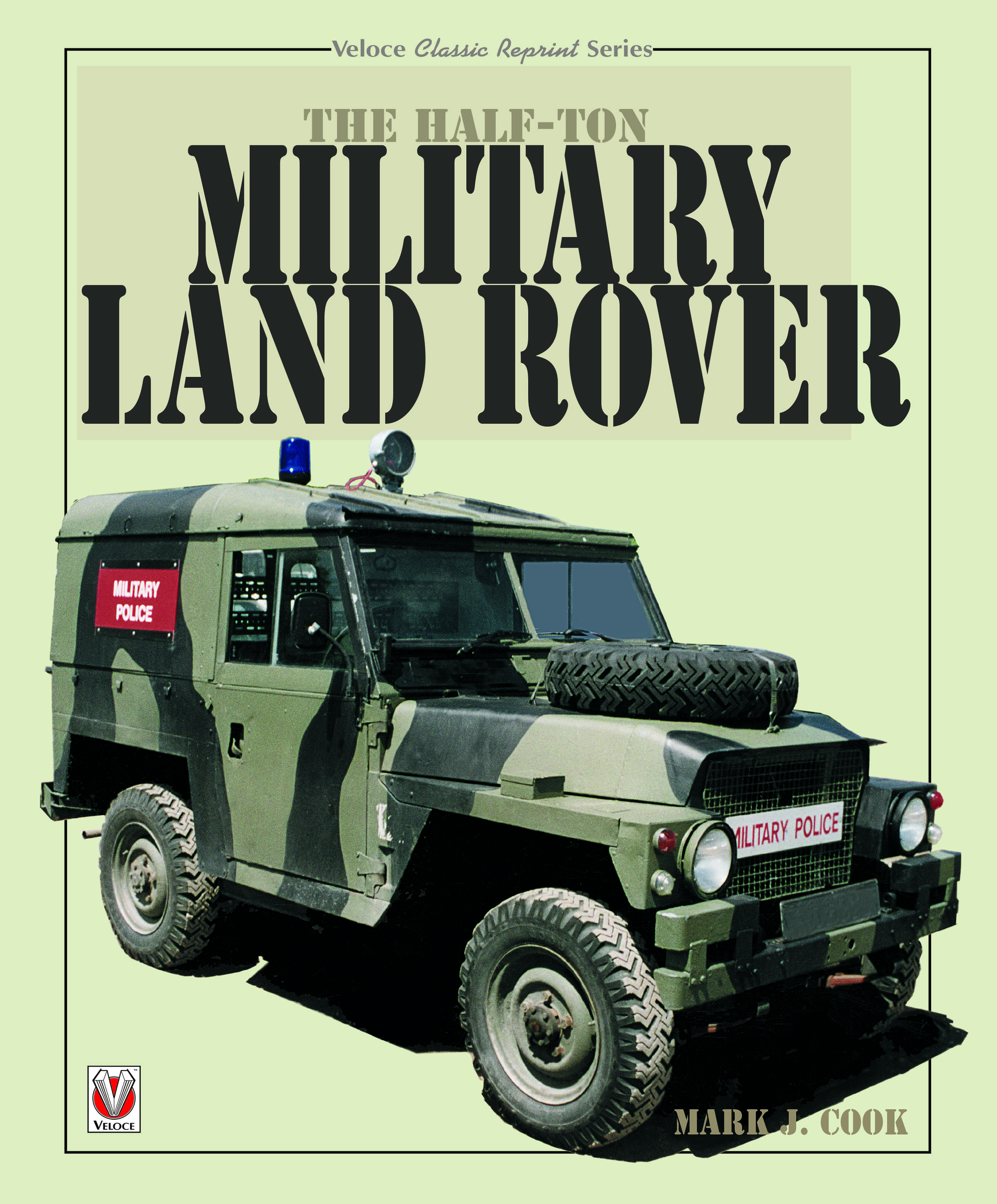 The Half-ton Military Land Rover  cover