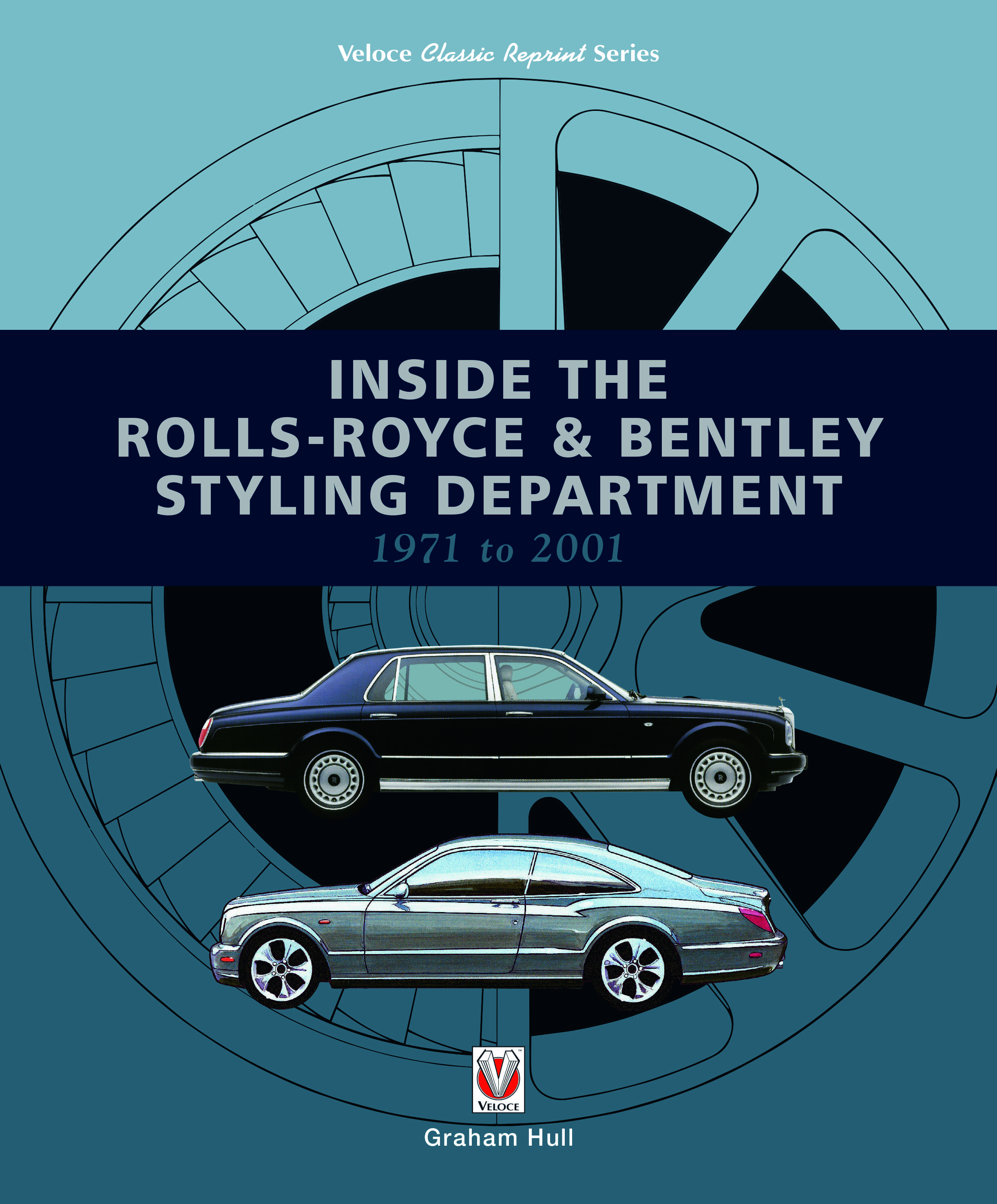 Inside the Rolls-Royce & Bentley Styling Department 1971 to 2001  Cover