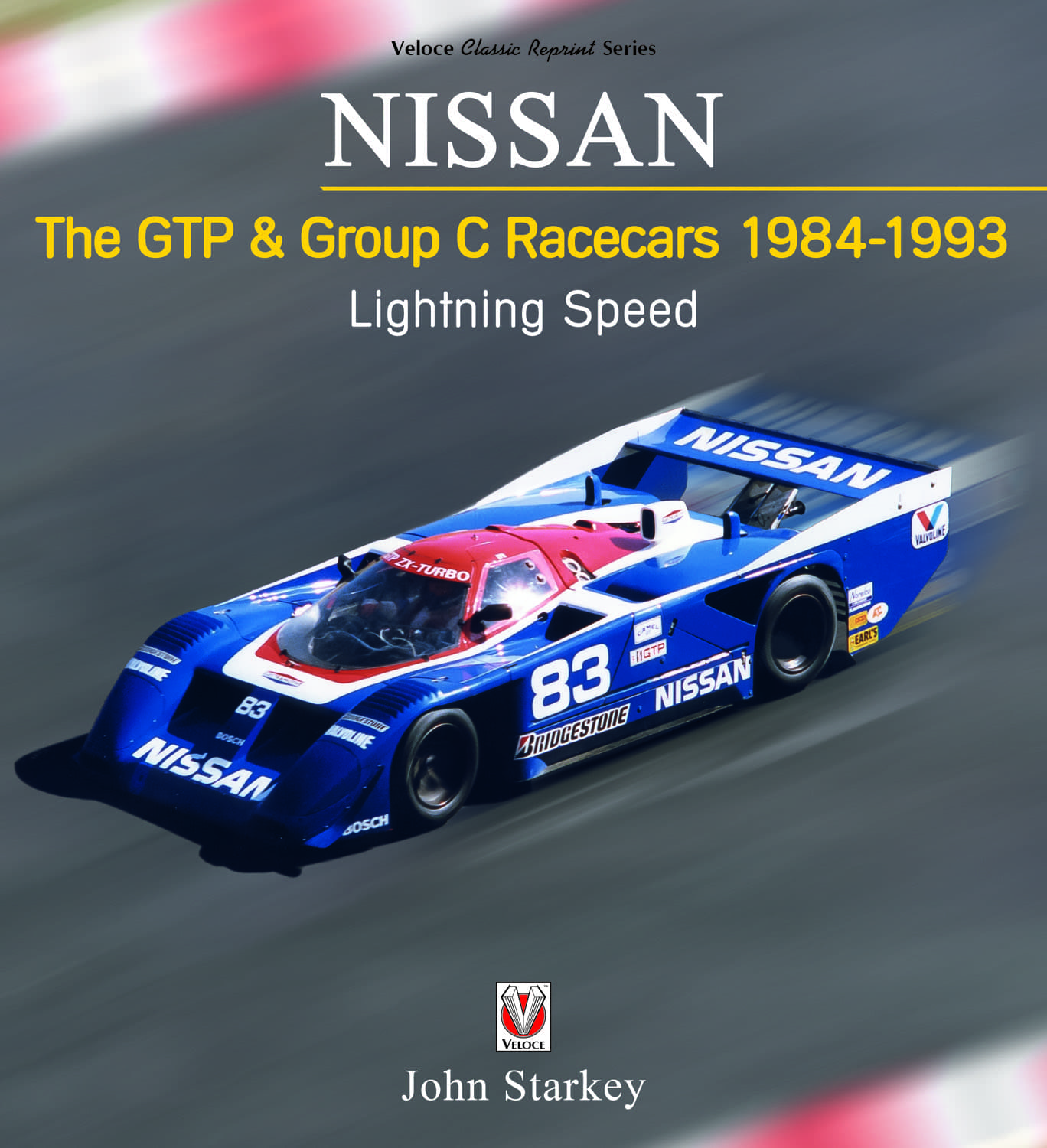 Nissan GTP & Group C cars cover