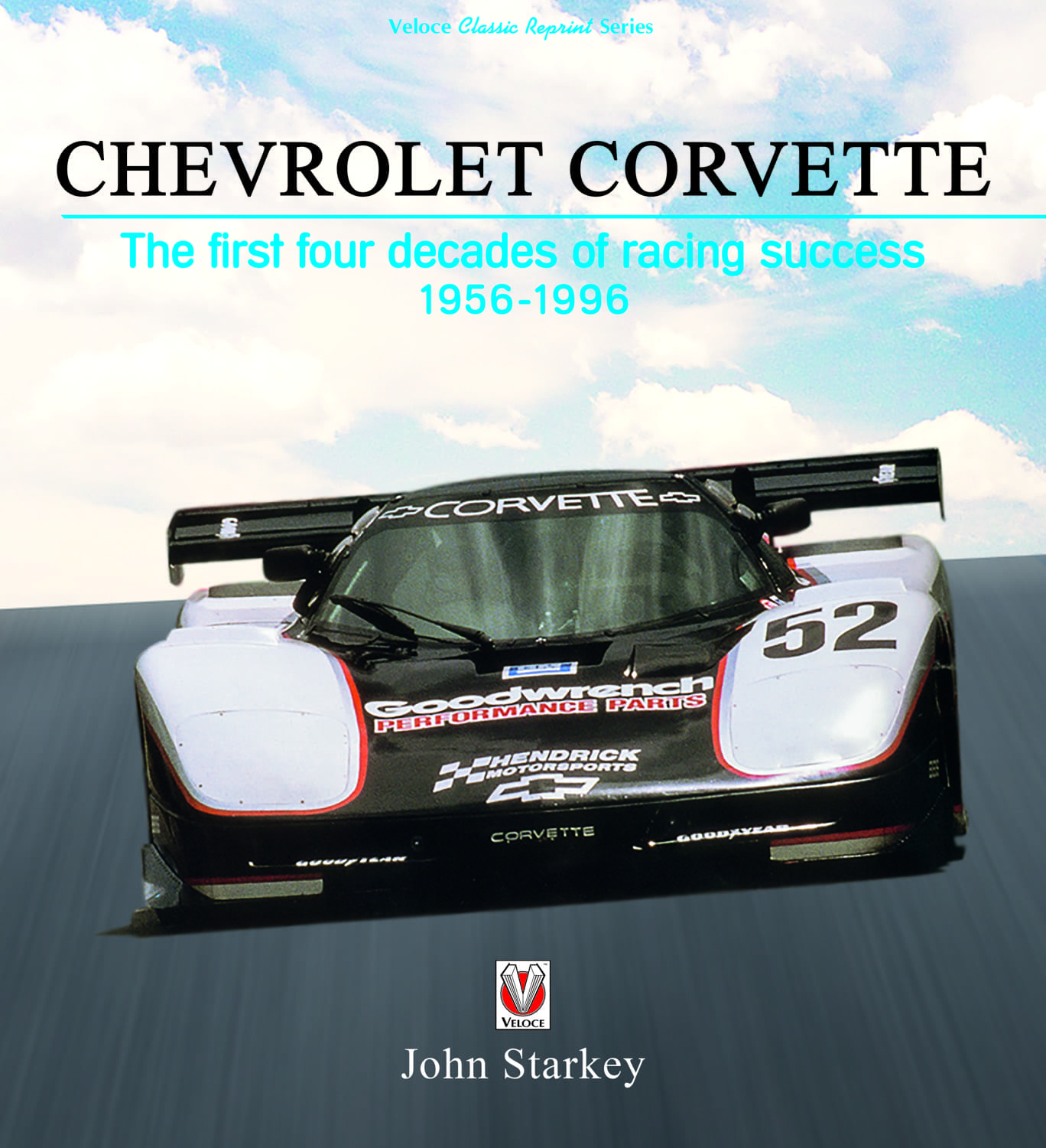 Chevrolet Corvette – The first four decades of racing success 1956-1996 cover