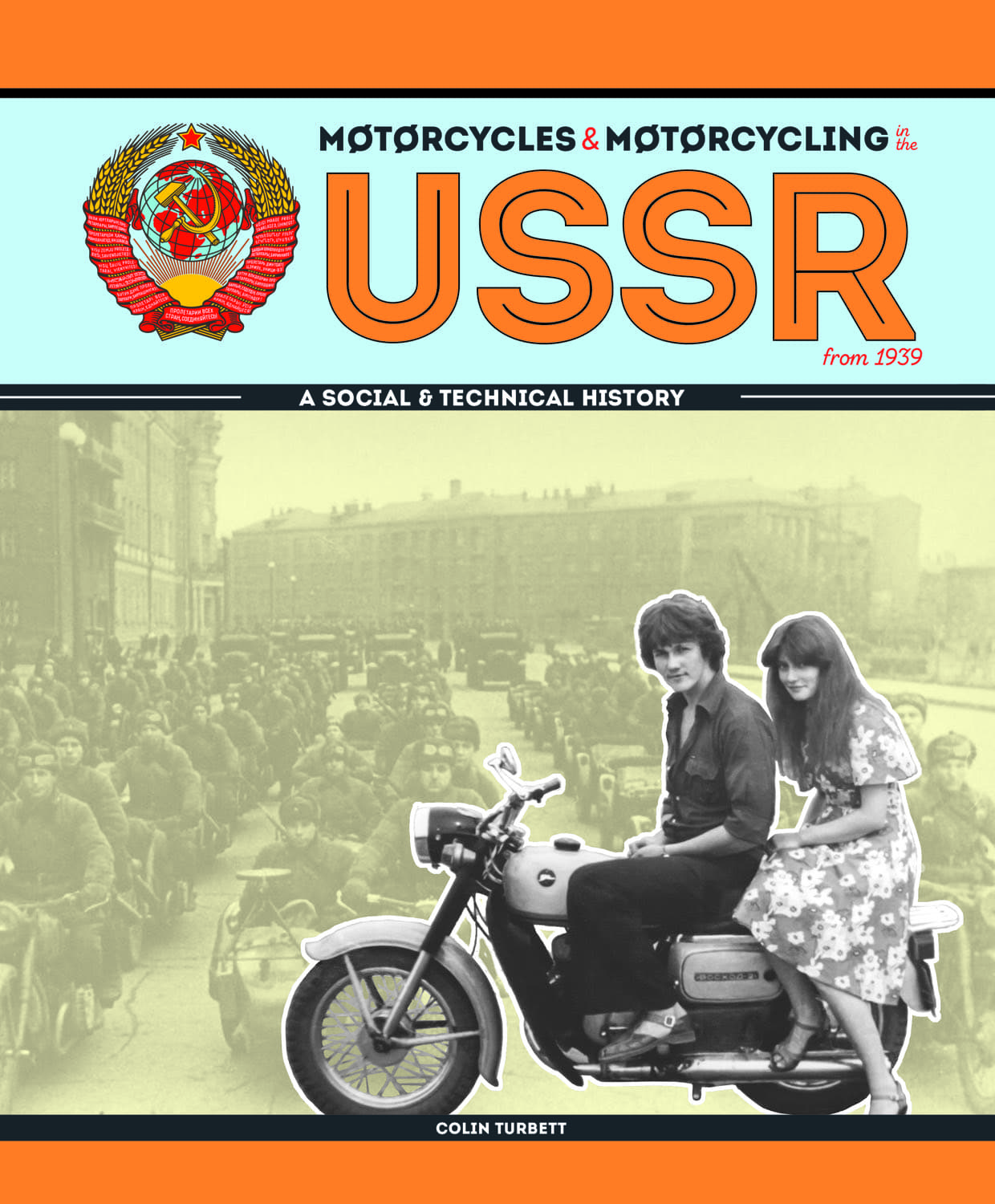 Motorcycles & Motorcycling in the USSR from 1939 cover