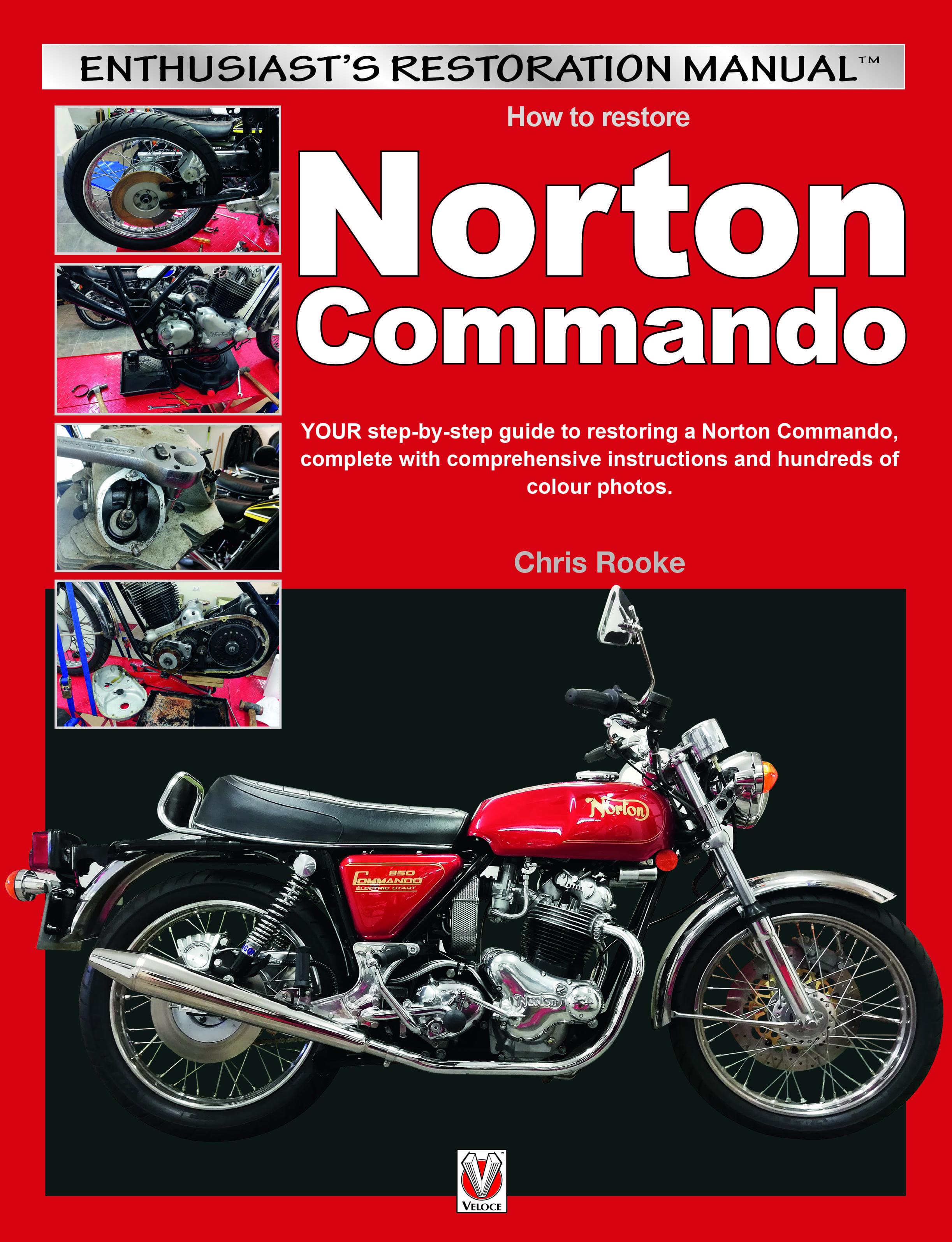 How to restore Norton Commando cover