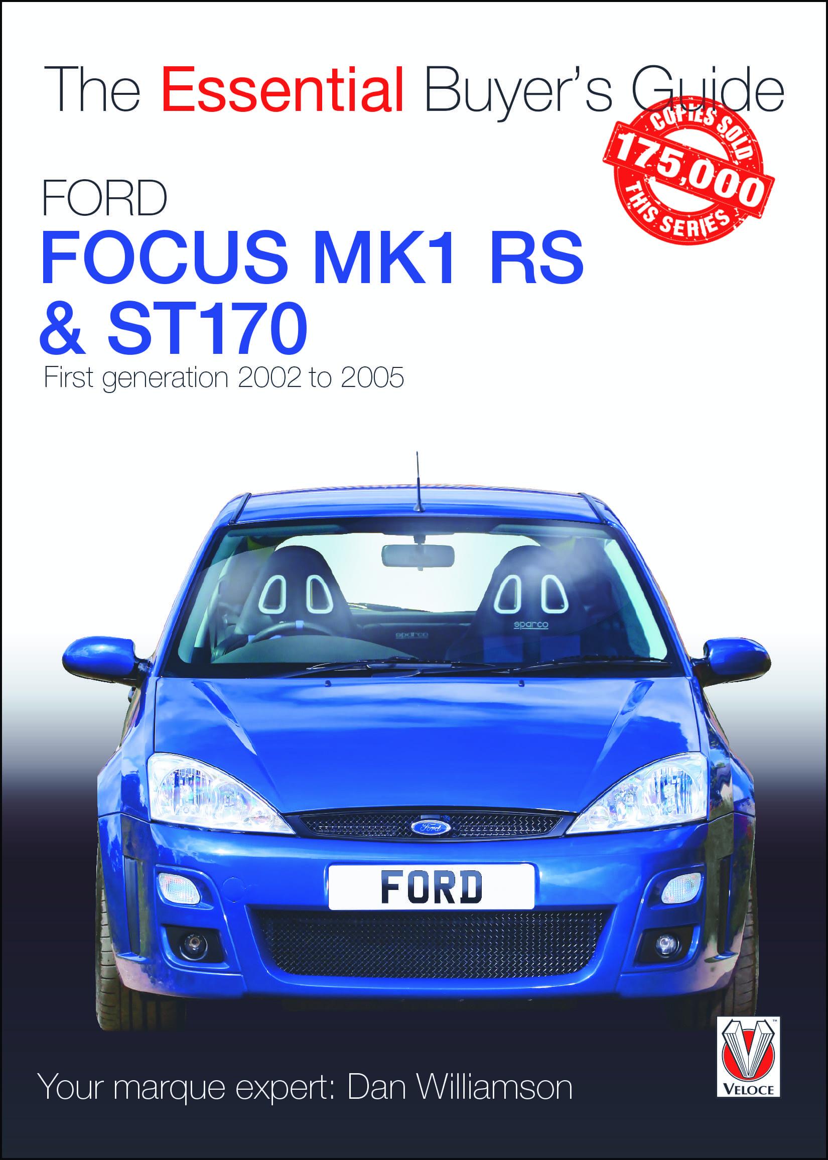 Ford Focus Mk1 RS & ST170 EBG  cover