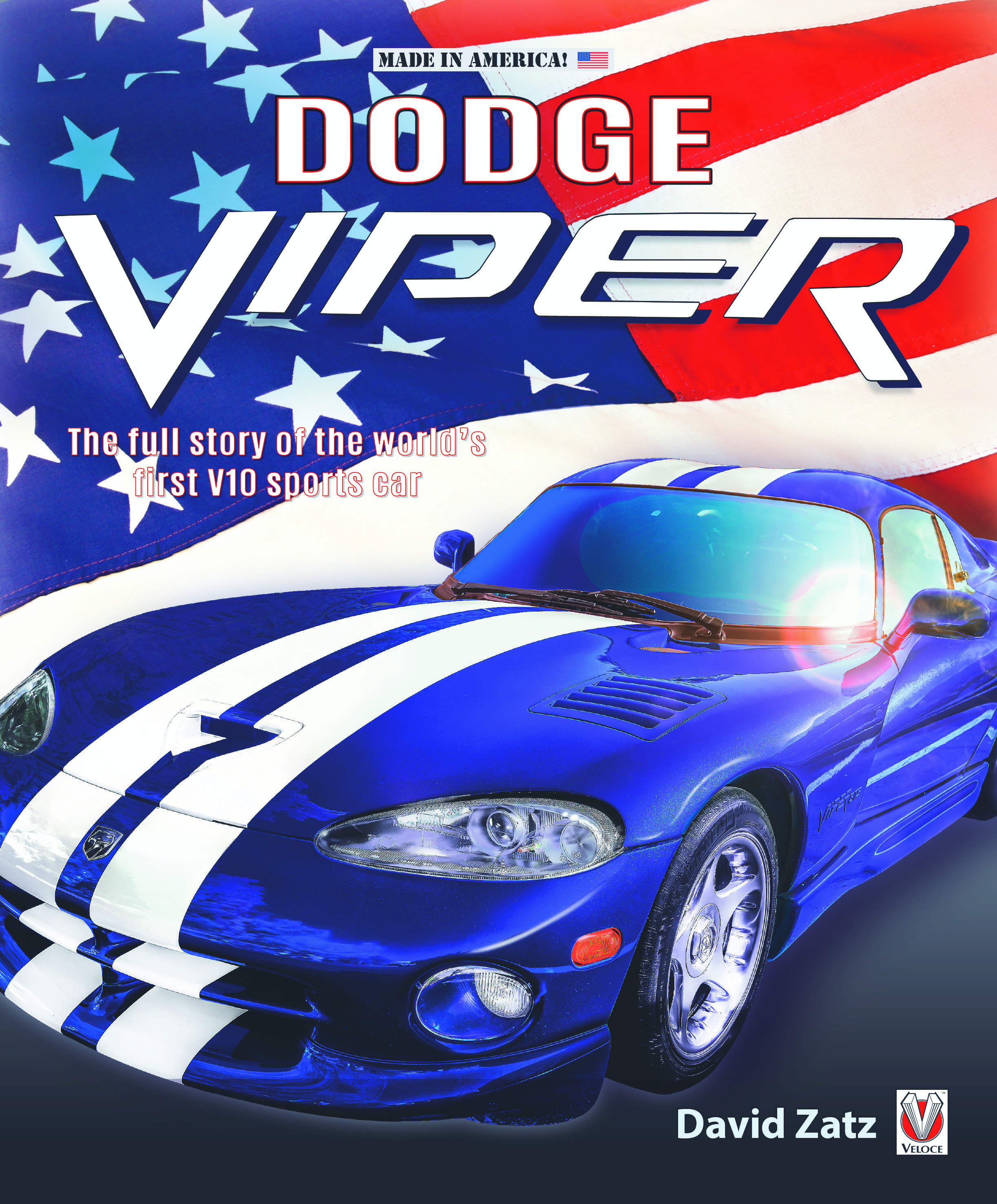 Dodge Viper – The full story of the world's first V10 sports car Book cover