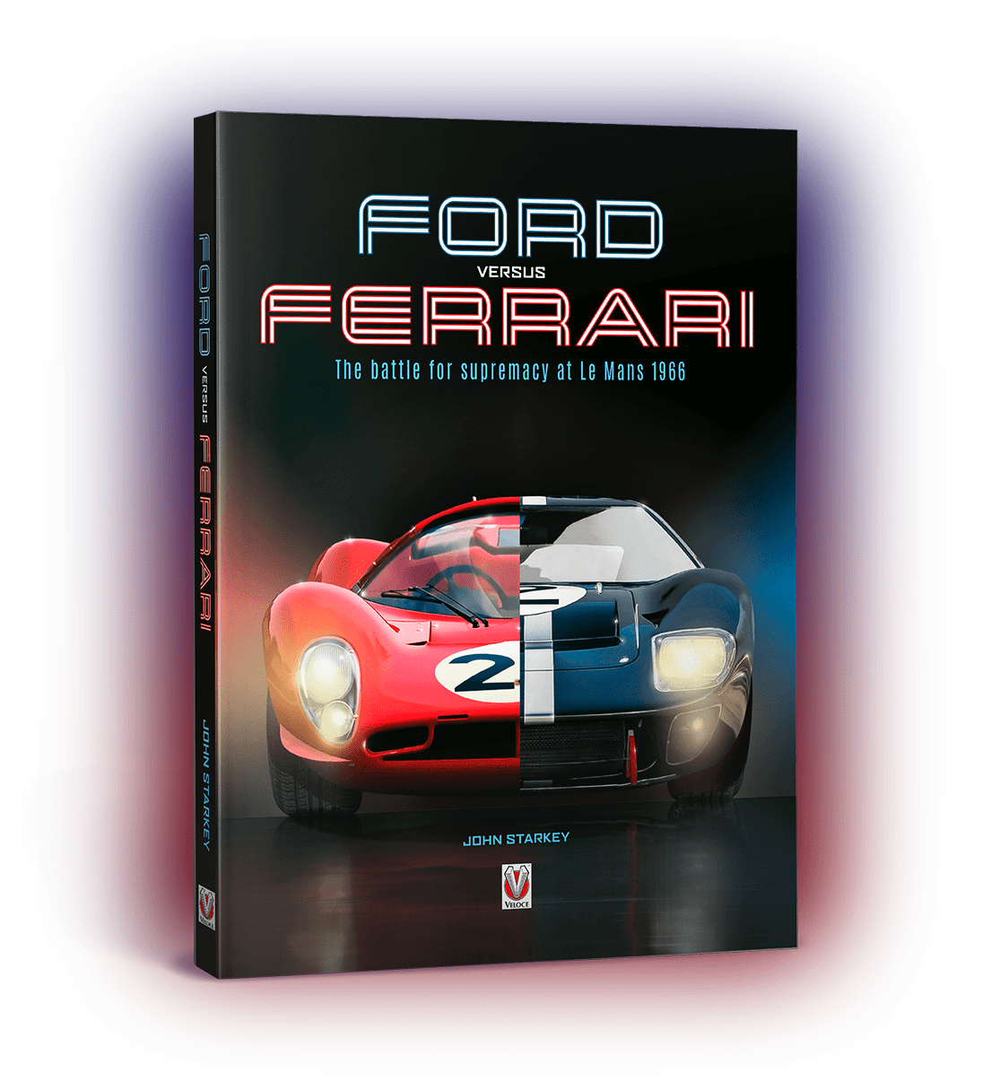 Ford versus Ferrari cover