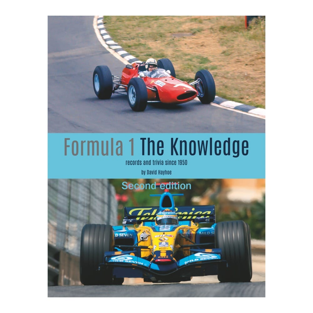 Formula 1 The Knowledge book cover