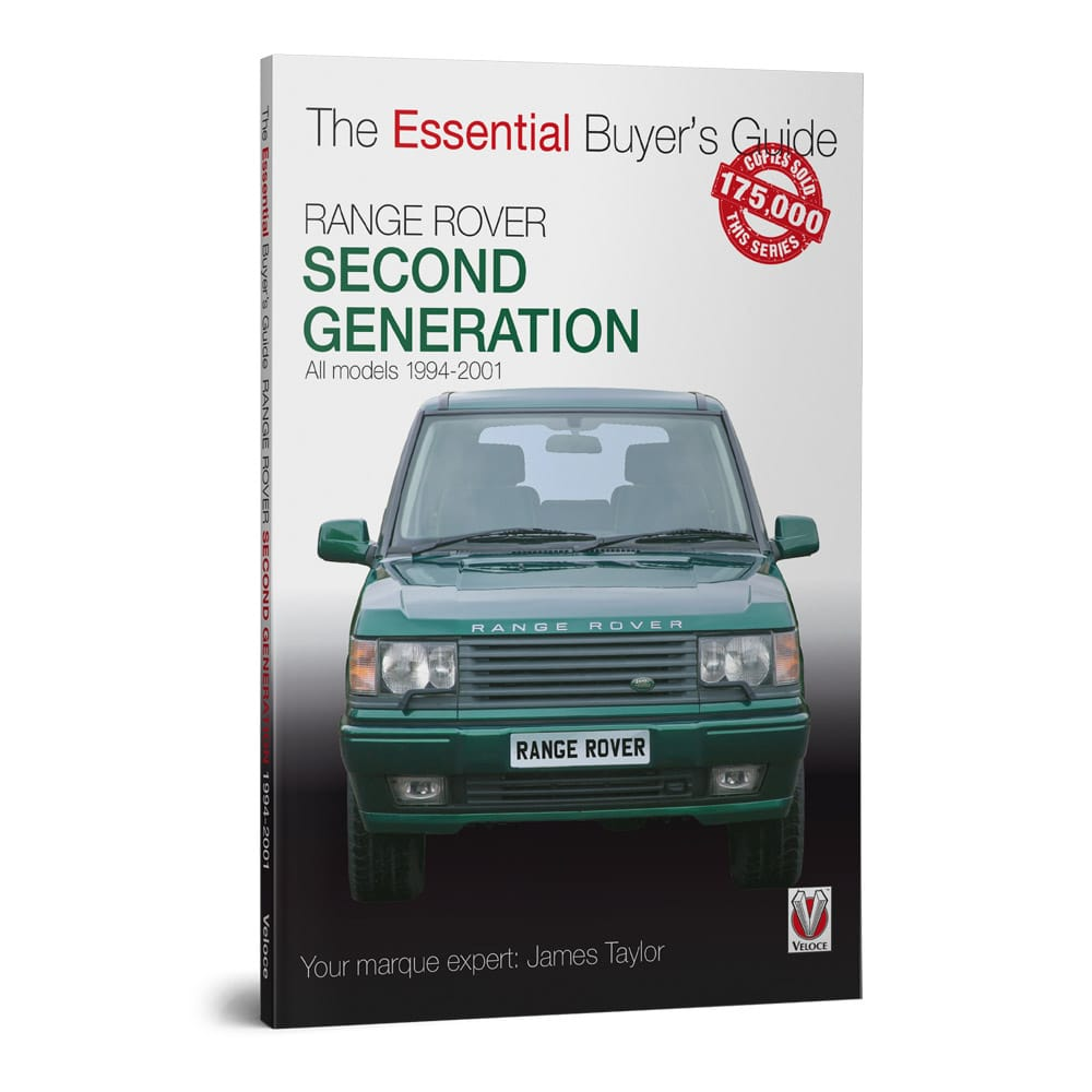 RangeRover £rd Gen EGB book cover
